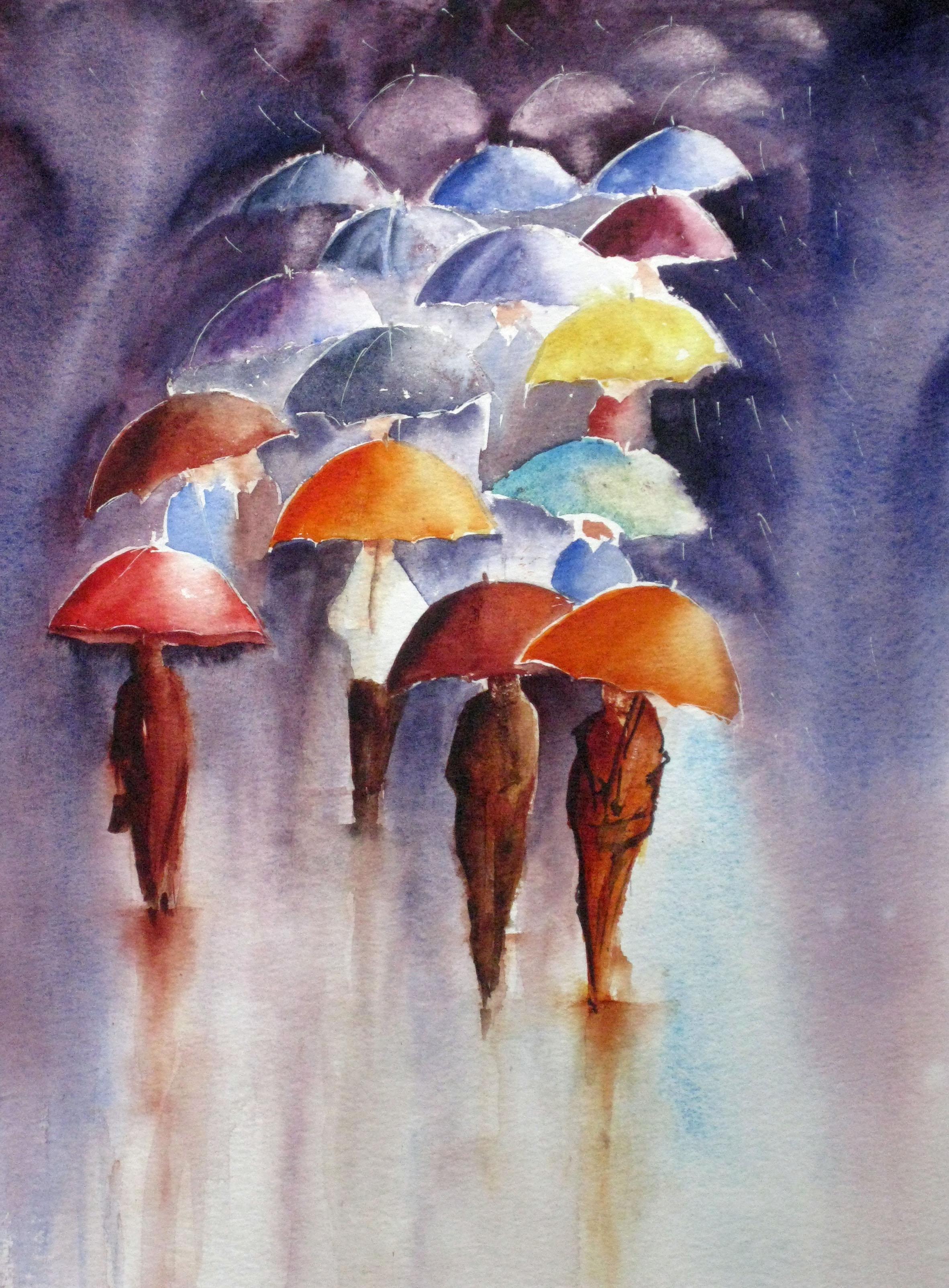 Evelyne_Bovis_Les_parapluies_1
