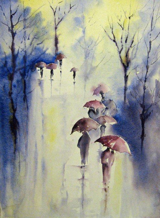 Evelyne_Bovis_Les_parapluies_2