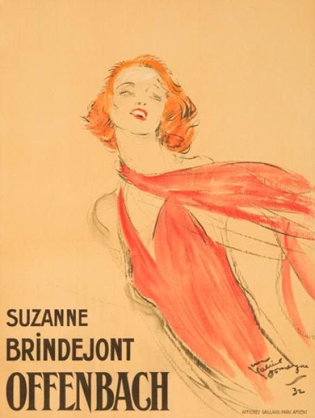 Suzanne Brindejont-Offenbach 1932
